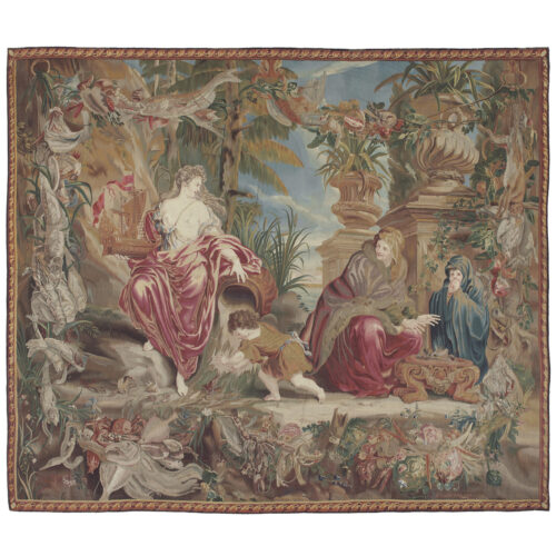 Antique tapestry Royal Manufacture of Brussels - 272