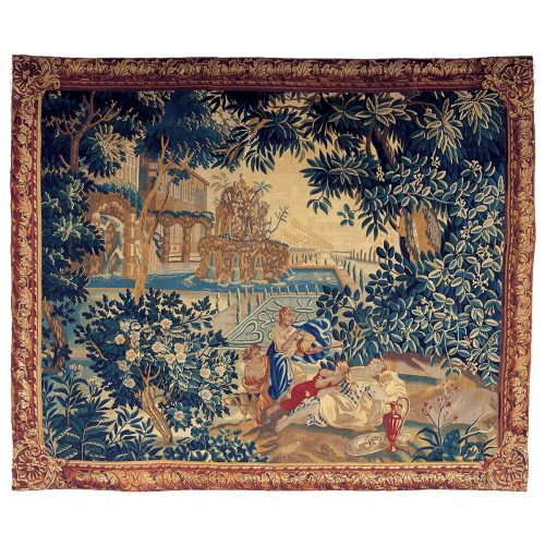 Antique Flemish Tapestry Manufacture of Brussels - 111