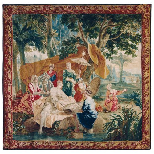 Antique tapestry Royal Manufacture of Brussels - 268