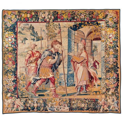 Antique tapestry Royal Manufacture of Brussels