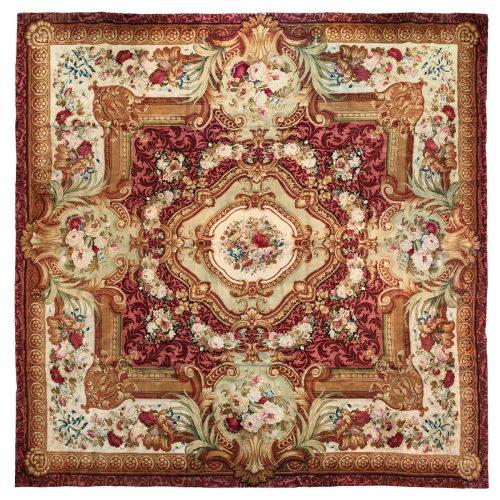 Antique Axminster carpet (England) - 113
