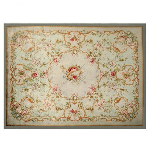 Antique Savonnerie carpet (France) - 343