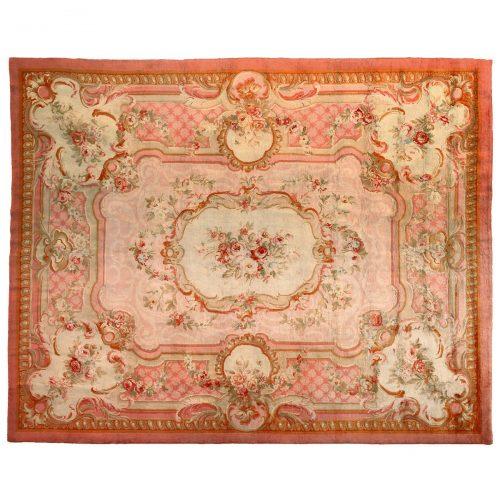 Antique Savonnerie carpet (France) - 361