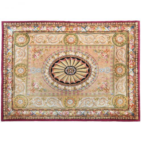 Antique Savonnerie carpet (France) - 369