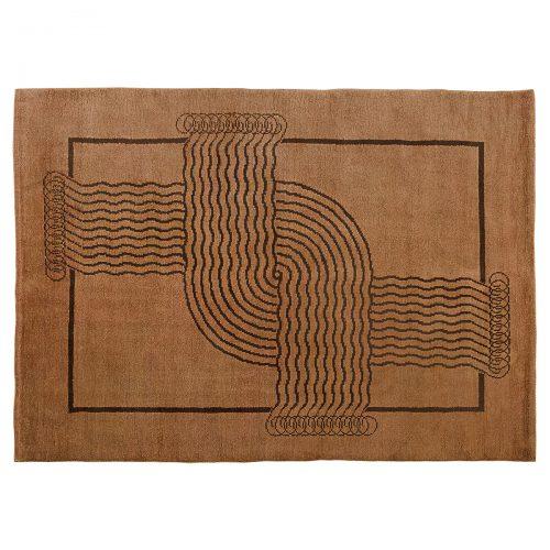 Art decò carpet - 381
