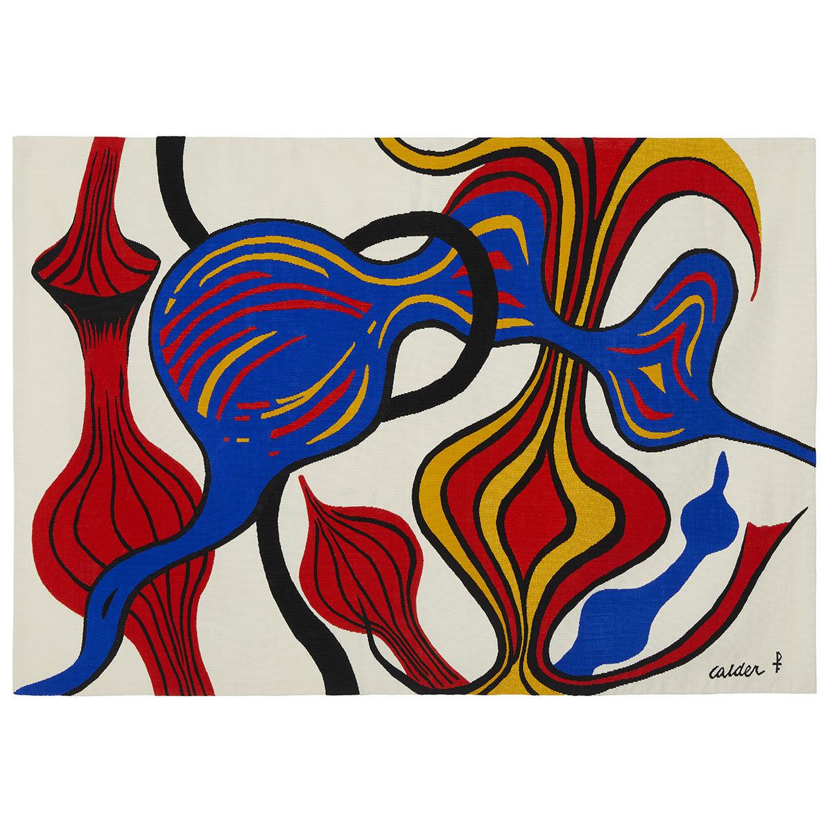 Arazzo moderno Alexander Calder Mes Oignons