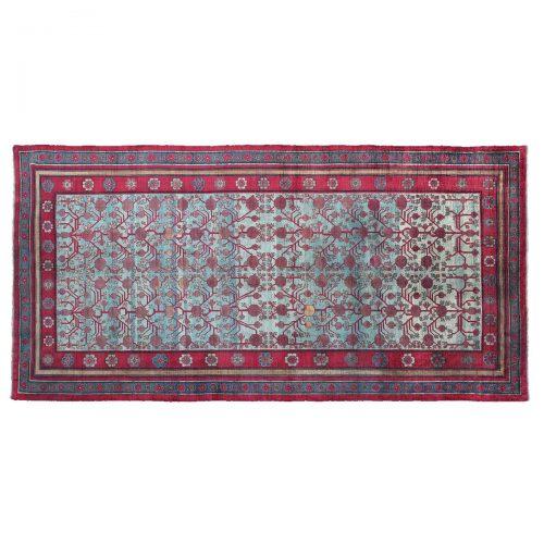 Tappeto orientale Yarkand in seta (Turkestan orientale)